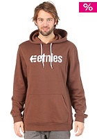 ETNIES Corporate P/O Hooded Sweat dark brown