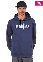 ETNIES Corporate P/O Hooded Sweat navy