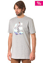 ETNIES Gunz Blazin S/S T-Shirt grey/heather