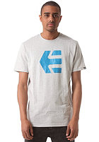 ETNIES Icon 14 S/S T-Shirt grey/blue
