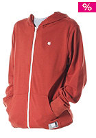 ETNIES Kids Classic Zip Fleece Jacket rust