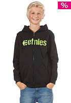 ETNIES Kids/ Corporate 09 Hooded Zip Sweat black/green