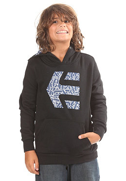 ETNIES Kids/ Icon Fill Hooded Sweat black/blue