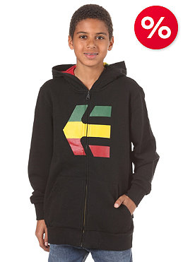 ETNIES Kids Icon Fill Hooded Zip Sweat black