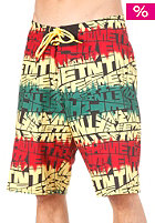 ETNIES Looser Boardie Boardshorts black/green/gold
