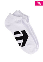 ETNIES Mega Ped Socks 3Pack white