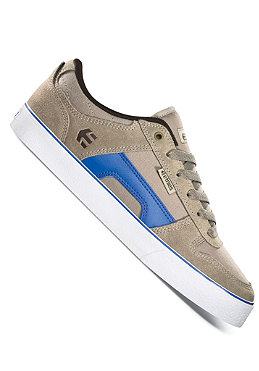 ETNIES RVS dark tan/blue/white