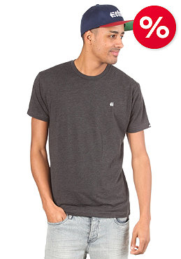 ETNIES Small Icon S/S T-Shirt charcoal/heather