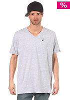 ETNIES Small Icon V-Neck S/S T-Shirt grey/heather 