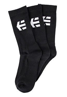 ETNIES SMU Crew Socks 3Pack black