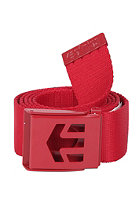 ETNIES Staplez Belt red