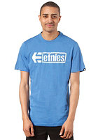 ETNIES Stencil Box S/S T-Shirt royal/white