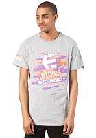 ETNIES Torn S/S T-Shirt grey/heather