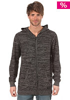 ETNIES Warn Hooded Zip Cardigan charcoal