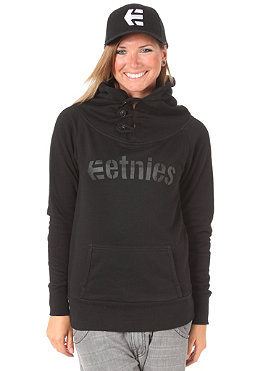ETNIES Womens Sadie II Hooded Sweat black