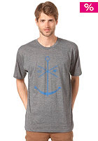EZEKIEL Adrift Heather S/S T-Shirt dark heather grey