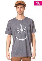 EZEKIEL Adrift Heather S/S T-Shirt midnight navy
