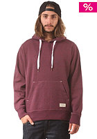 EZEKIEL Focus Classic Hooded Sweat heather red blue