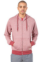 EZEKIEL Gerry Hooded Zip Sweat burgundy