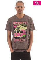 EZEKIEL Get Away Heather S/S T-Shirt heather brown