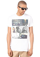EZEKIEL Montage Slim S/S T-Shirt white