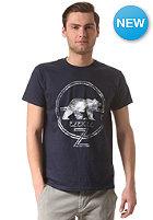 EZEKIEL Smoke Rises Slim S/S T-Shirt navy