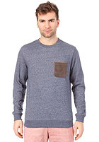 EZEKIEL Vega Crewneck Sweat heather dark blue