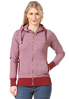 EZEKIEL Womens Amity Hooded Zip Sweat burgundy