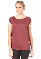EZEKIEL Womens Audrey Top heather oxblood