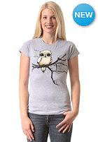 EZEKIEL Womens Fly Right Basic S/S T-Shirt heather grey