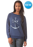 EZEKIEL Womens Indigo Crewneck Sweat indigo