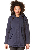EZEKIEL Womens Jigsaw Parker Jacket dark blue