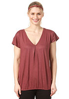 EZEKIEL Womens Laura Top heather oxblood