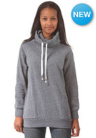 EZEKIEL Womens Mayfair Funnelneck Sweat heather dark blue