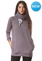 EZEKIEL Womens Mayfair Funnelneck Sweat heather plum