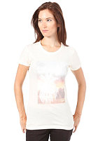EZEKIEL Womens Palm Tree Basic S/S T-Shirt ivory