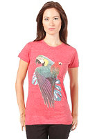 EZEKIEL Womens Parrot Basic S/S T-Shirt red