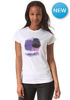 EZEKIEL Womens Polkabird Basic S/S T-Shirt white