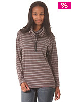 EZEKIEL Womens Prado Funnelneck Sweat dark grey