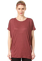 EZEKIEL Womens Shelly Top heather oxblood
