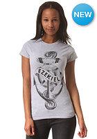 EZEKIEL Womens Sink Or Swim Basic S/S T-Shirt heather grey