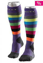 FALKE Kids Stripe KH Socks amethyst