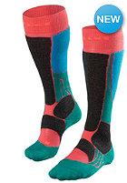 FALKE Womens SB 2 Socks hibiscus