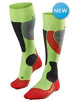 FALKE Womens SK 4 Socks bright lime
