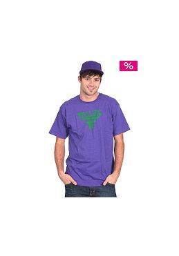 FALLEN Feedback S/S T-Shirt purple/green