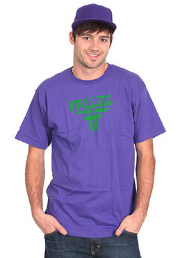 FALLEN Feedback S/S T-Shirt purple/green
