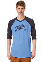 FALLEN Fury Raglan 3/4 T-Shirt heather royal/navy