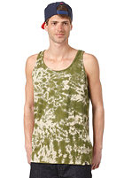 FALLEN Gerlach Tank Top surplus green tea stain
