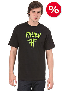 FALLEN Haste S/S T-Shirt black/lime