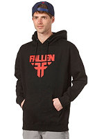 FALLEN Insignia Hooded Sweat black/blood red